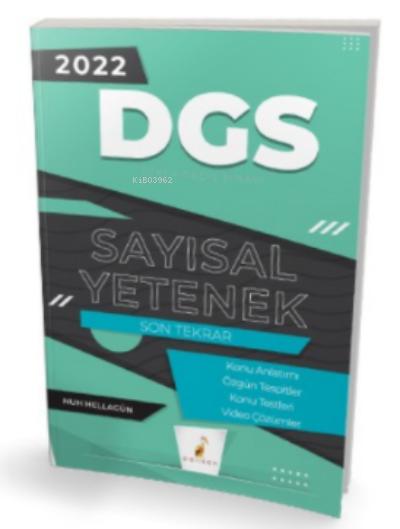 2022 DGS Sayısal Yetenek Son Tekrar Konu Anlatımı