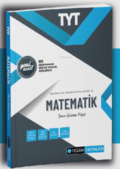 2022 TYT Matematik Ders İşleme Föyü