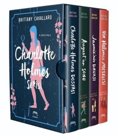 Charlotte Holmes Serisi Kutulu Set (4 Kitap Takım)
