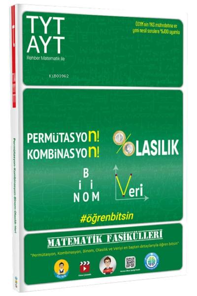 TYT-AYT Matematik Fasikülleri - Permütasyon, Kombinasyon, Olasılık, Binom, Veri