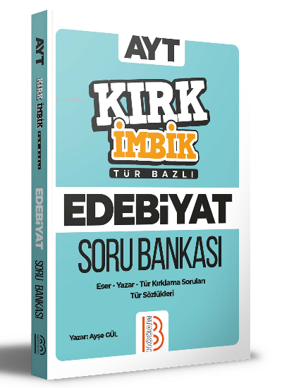 AYT Türk Dili ve Edebiyatı Kırk İmbik Soru Bankası