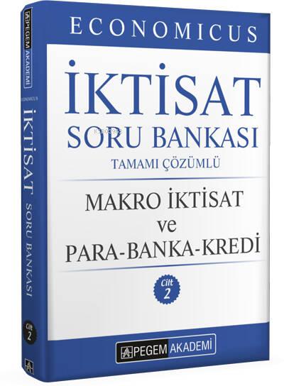 2022 KPSS A Grubu Economicus Makro İktisat ve Para-Banka-Kredi Cilt 2 Soru Bankası