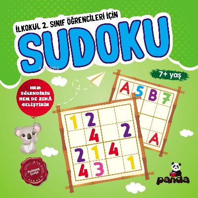 Sudoku 7 Yaş; İlkokul 2 Sınıflar İçin