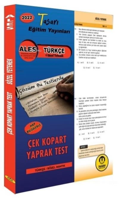 2022 ALES Türkçe Çek Kopar Yaprak Test