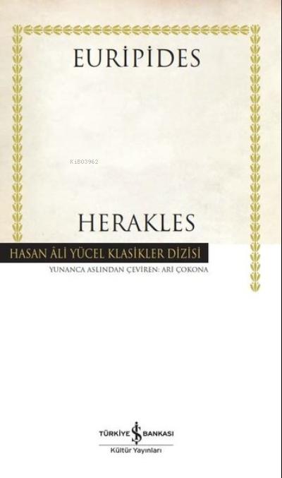 Herakles ( Ciltli );Hasan Ali Yücel Klasikler Dizisi