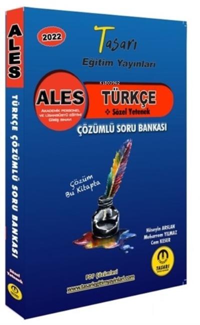 2022 ALES Türkçe Sözel Yetenek Çözümlü Soru Bankası