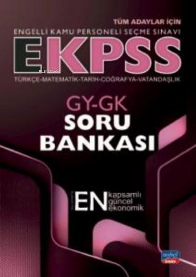 E-KPSS GY-GK Soru Bankası - Türkçe - Matematik - Tarih - Coğrafya - Vatandaşlık