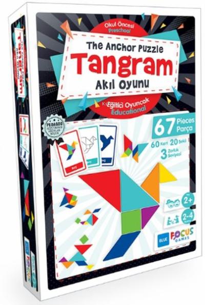 Blue Focus Tangram - Akıl Oyunu;67 Parça