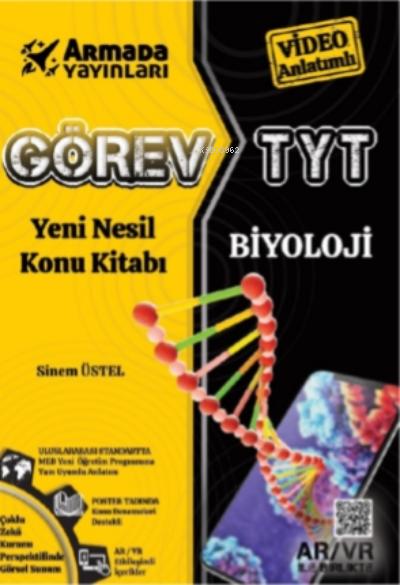 2021 Görev TYT Biyoloji Yeni Nesil Konu Kitabı