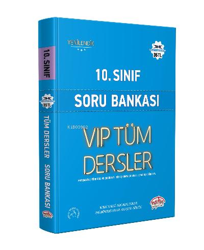 Editör 10. Sınıf Tüm Dersler Soru Bankası