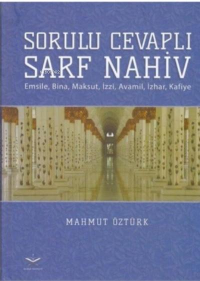 Sorulu Cevapli Sarf Nahiv