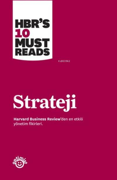 Strateji Harvard Business Review'den En Etkili Yönetim Fikirleri