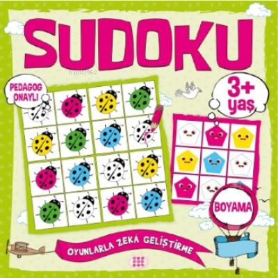 Çocuklar İçin Sudoku - Boyama (3+ Yaş)