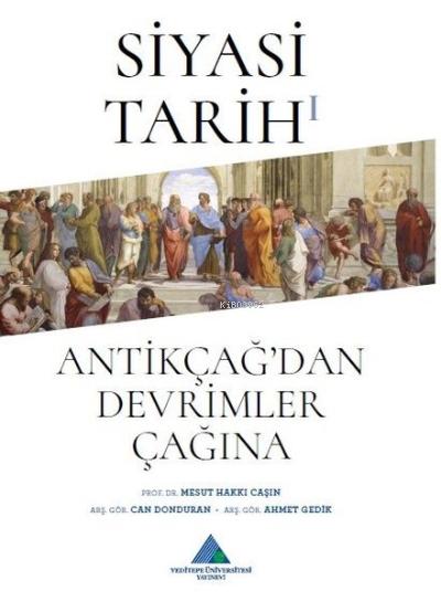 Siyasi Tarih 1 ;Antikçağ'dan Devrimler Çağına