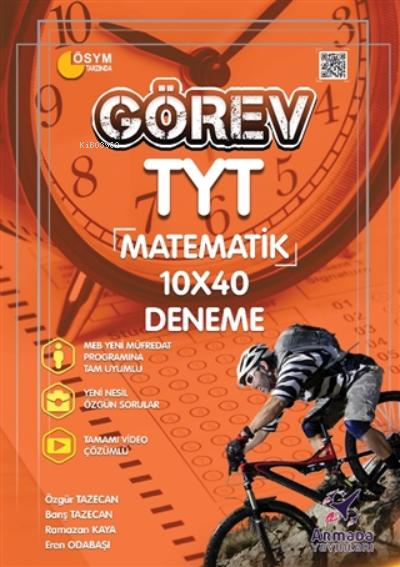 2021 Görev Tyt Matematik 10x40 Deneme