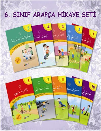 6. Sınıf Arapça Hikaye Seti