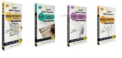 2022 DGS Konu Anlatımı 4 Kitap;Matematik-Türkçe-Mantık-Geometri