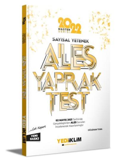 2022 Ales Sayısal Yetenek Çek Kopart Yaprak Test
