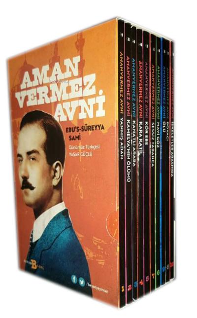 Amanvermez Avni 10 Kitap ( Kutulu )        ;Günümüz Türkçesi ile, Bir Osmanlı Polisiyesi...