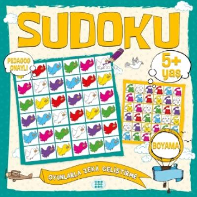 Çocuklar İçin Sudoku - Boyama (5+ Yaş)