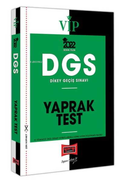 2022 VİP DGS Yaprak Test