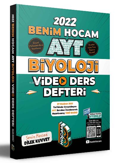 Benim Hocam Yayınları AYT Biyoloji Video Ders Notları Benim Hocam