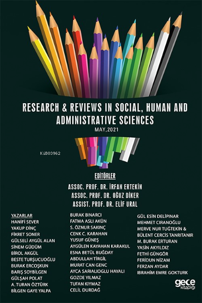 Research & Reviews In Social, Human And Administrative Sciences, May 2021