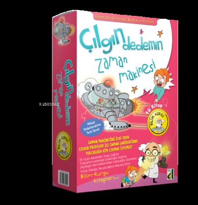 Çılgın Dedemin Zaman Makinesi (10 Kitap)