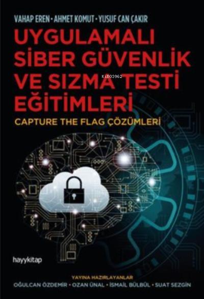 Uygulamalı Siber Güvenlik ve Sızma Testi Eğitimleri;Capture The Flag Çözümleri