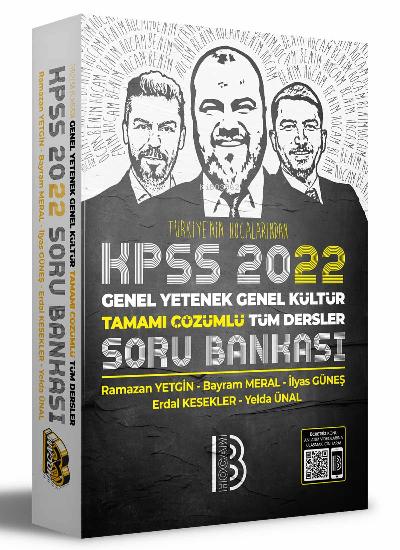 2022 KPSS Genel Yetenek Genel Kültür Tamamı Çözümlü Tüm Dersler Soru Bankası