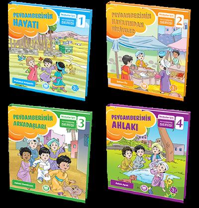 İlkokullar için Peygamberim Serisi - 4 Kitap