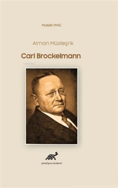 Alman Müsteşrik Carl Brockelmann