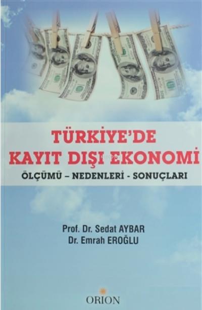 Türkiye'de Kayıt Dışı Ekonomi;Ölçümü Nedenleri Sonuçları