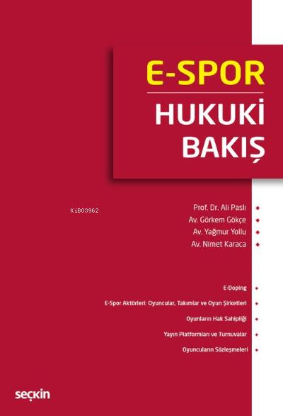 E-Spor: Hukuki Bakış
