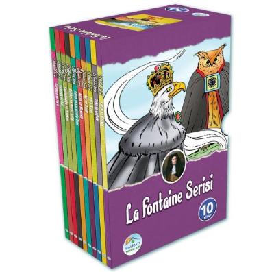 La Fontaine Öyküleri Seti (10 Kitap Kutulu)