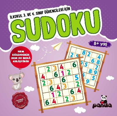 Sudoku 8 Yaş; 3 ve 4 Sınıflar İçin