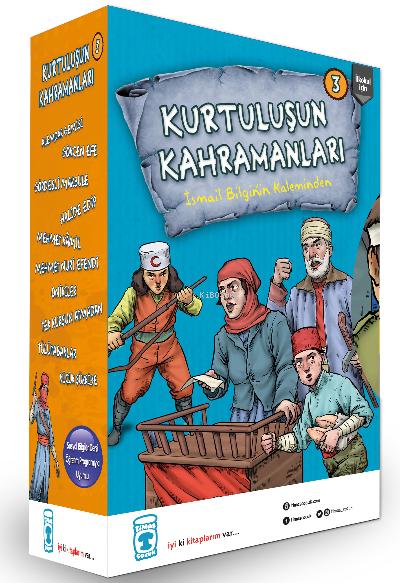 Kurtuluşun Kahramanları 3 Seti (10 Kitap Takım)