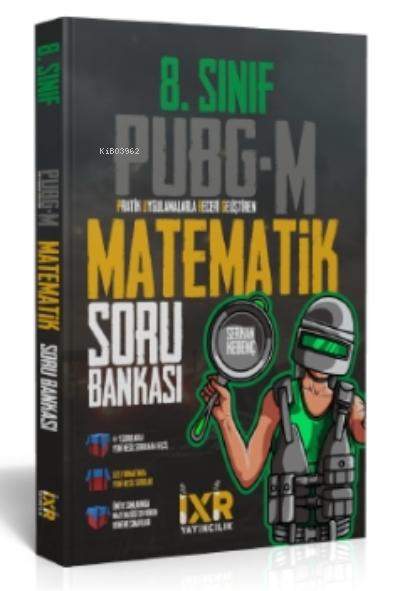 İXİR 8 Sınıf PUBG-M Matematik Soru Bankası