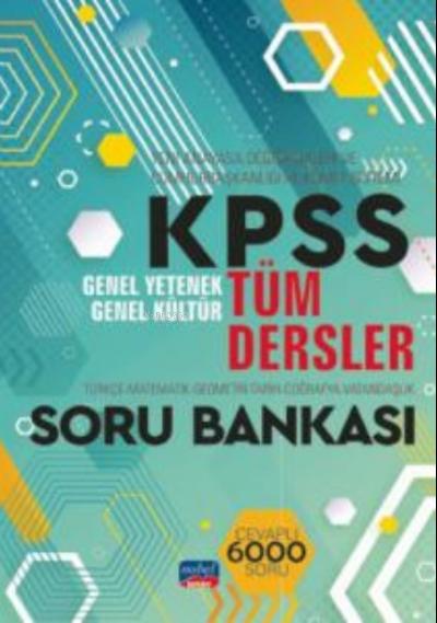 KPSS Tüm Dersler  GY-GK Soru Bankası - Türkçe - Matematik - Geometri - Tarih - Coğrafya - Vatandaşlık