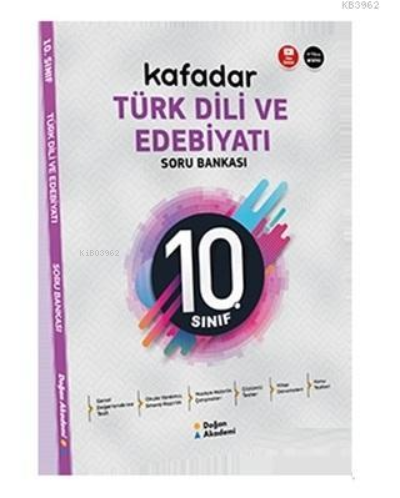 10. Sınıf Kafadar Türk Dili ve Edebiyatı Soru Bankası