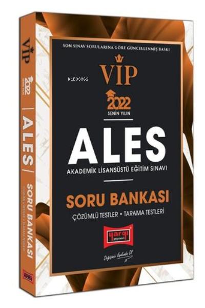2022 ALES VIP Soru Bankası