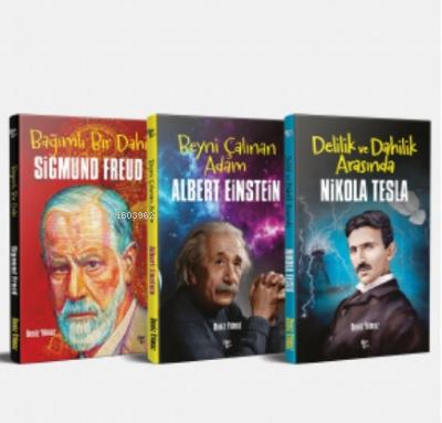 Dünyaya Yön Veren Bilim Adamları Seti - 3 Kitap
