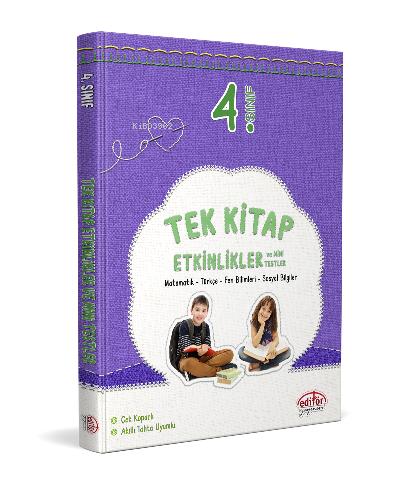 Editör 3. Sınıf Tek Etkinlikler ve Mini Testler