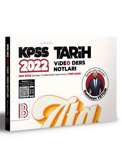 2022 KPSS Tarih Video Ders Notları