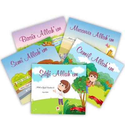 Allahın Güzel İsimleri 3 Seri 5 Kitap Takım