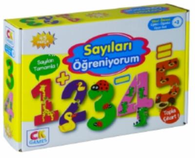 Sayıları Öğreniyorum Okul Öcesi Oyun Seti 3+yaş;Sayıları Öğreniyorum Okul Öcesi Oyun Seti 3+yaş