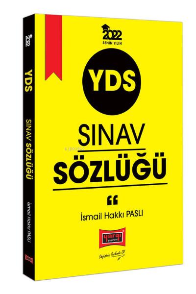 2022 YDS Sınav Sözlüğü