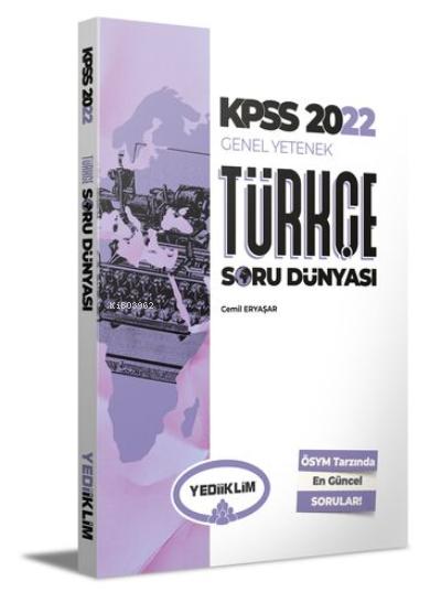 2022 KPSS Genel Yetenek Türkçe Soru Dünyası