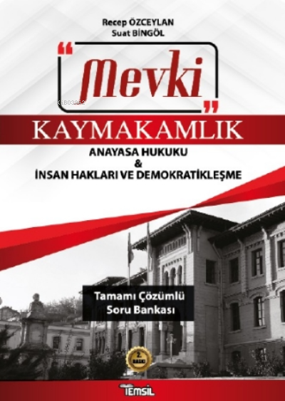 Mevki Anayasa Hukuku;Tamamı Çözümlü Soru Bankası