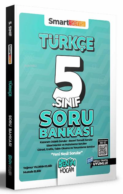 2022 5. Sınıf Türkçe Soru Bankası Benim Hocam Yayınları